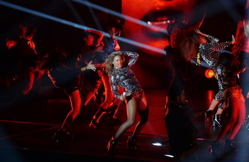 Beyoncé Knowles bei den MTV Video Awards 2014