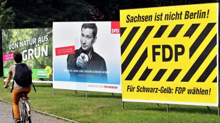 Ausblick auf die Landtagswahl in Sachsen