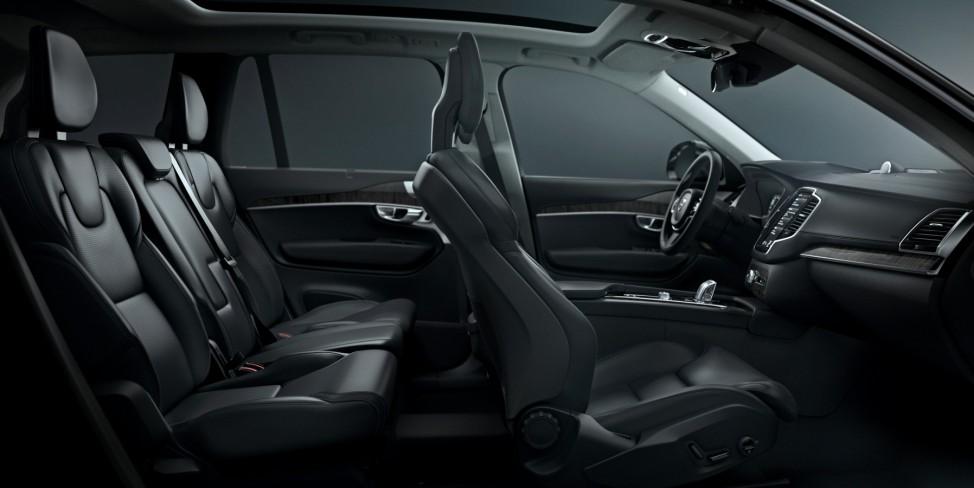 Der Innenraum des neuen Volvo XC90.