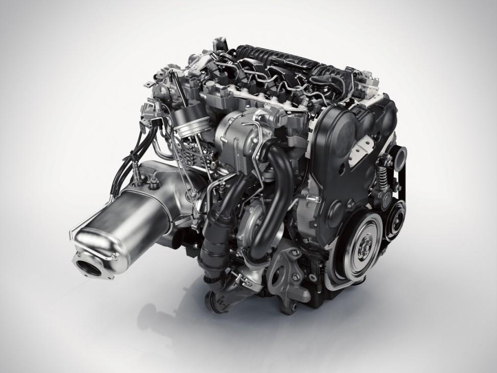 Der D5-Dieselmotor des neuen Volvo XC90 leistet 225 PS.