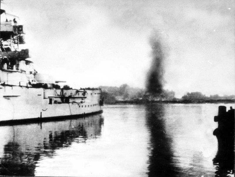 Beschießung der Westerplatte, 1939