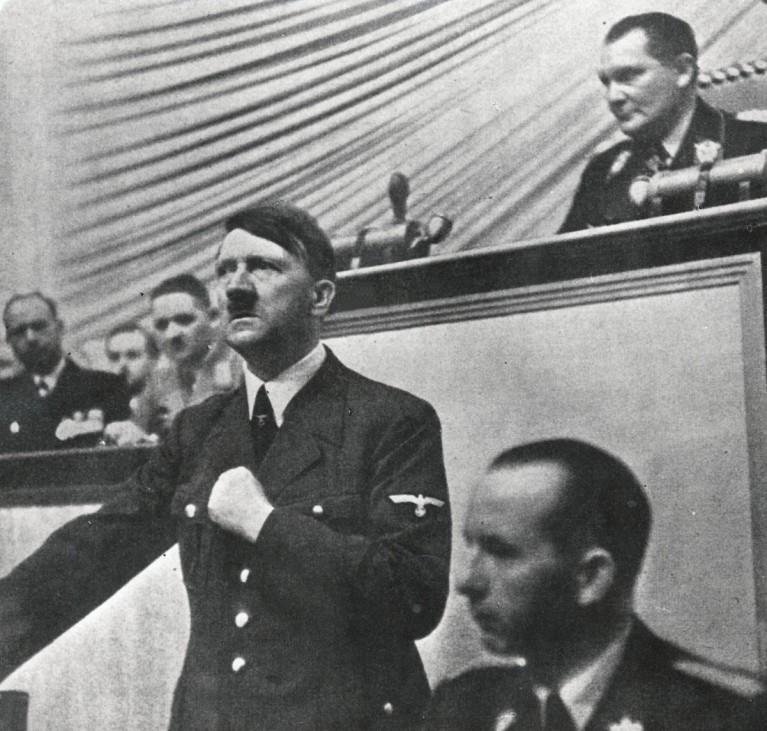 Hitler: Kriegserklärung an Polen 1.9.1939
