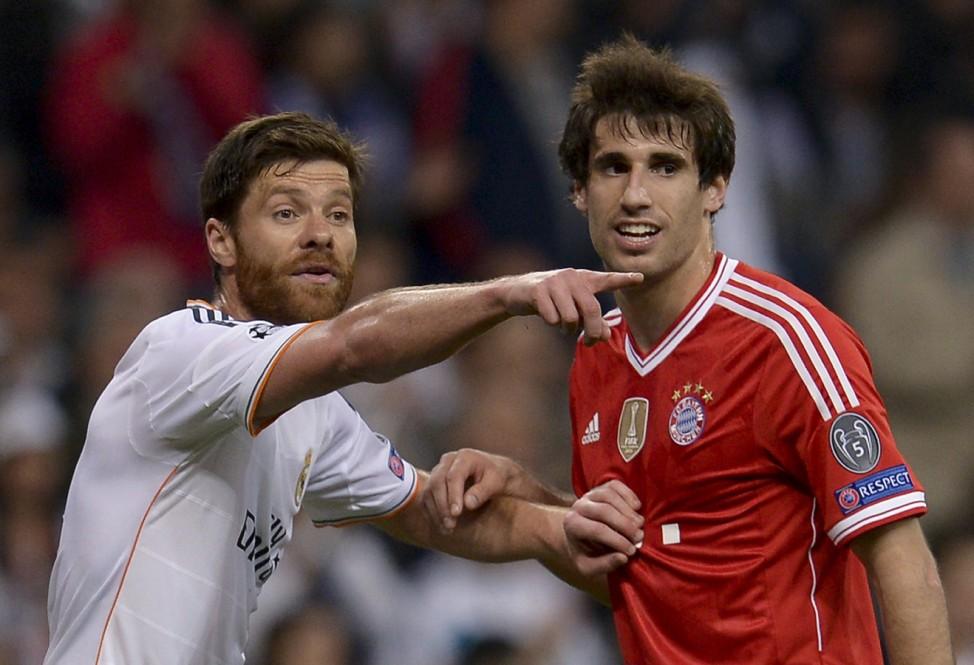 Xabi Alonso, FC Bayern München, Real Madrid