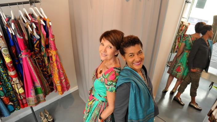 Modedesign im Glockenbackviertel: Rahmée Wetterich (r.) und Cornelia Hobbhahn haben einen Laden im Glockenbachviertel eröffnet.
