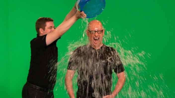 """´Ice Bucket Challenge"""" bei ARD-Sendung 'Wort zum Sonntag'"""