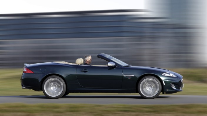 Der Jaguar XK66.