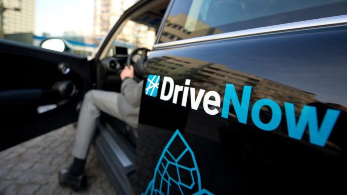 Carsharing: Mini von DriveNow