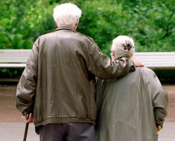 Rentnerpaar