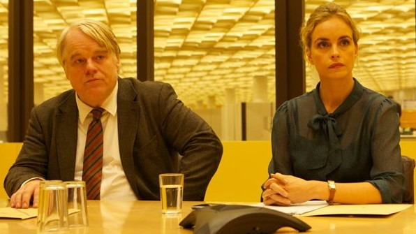"""Philip Seymour Hoffman und Nina Hoss in """"A Most Wanted Man""""."""