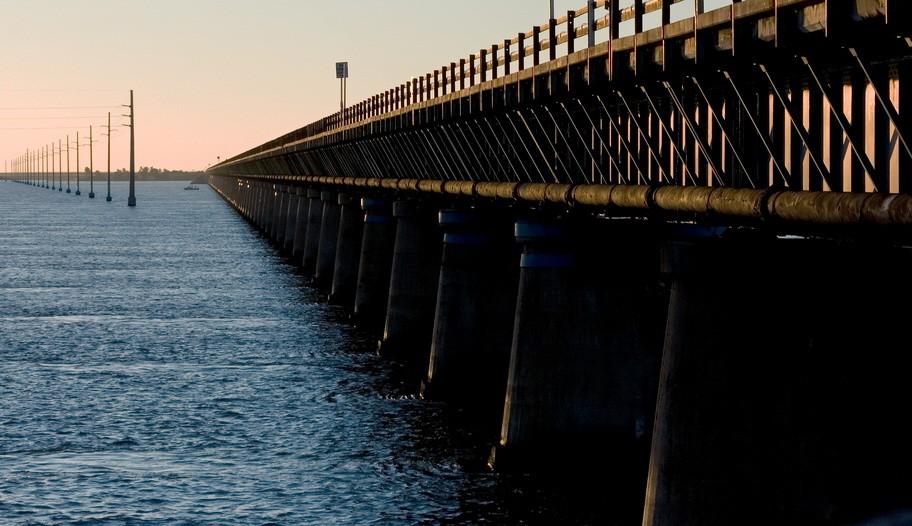 Florida Keys Old Seven Mile Bridge