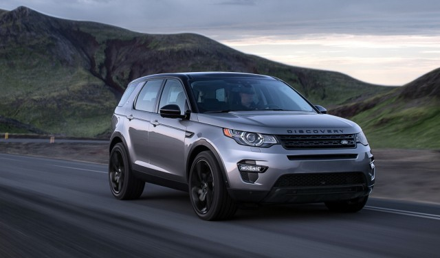 Der neue Land Rover Discovery Sport.