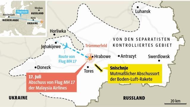 Russland und Flug MH17: undefined
