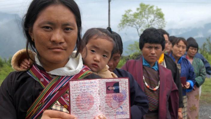 Wahlen im Himalaja-Königreich Bhutan