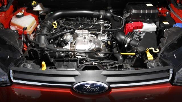 Der Motor des Ford Ecosport Ecoboost.