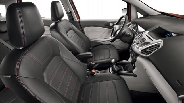Der Innenraum des Ford Ecosport Ecoboost.
