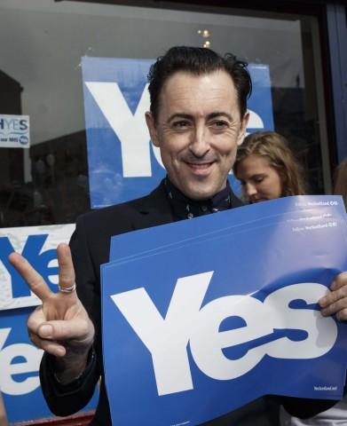 Scotland independence referendum campaining