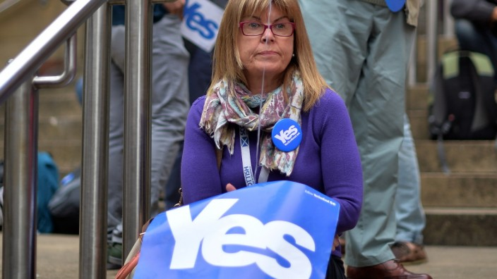 The Final Day Of Campaigning For The Scottish Referendum Ahead Of Tomorrow's Historic Vote