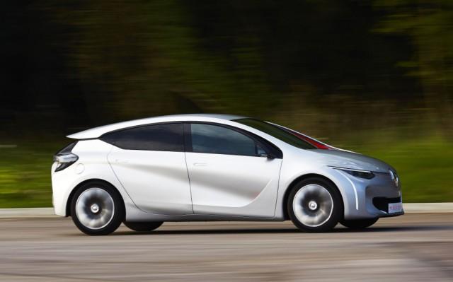 Renault Eolab: Konzeptstudie für den Pariser Autosalon 2014.