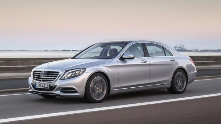 Der neue Mercedes S 500 Plug-In Hybrid.