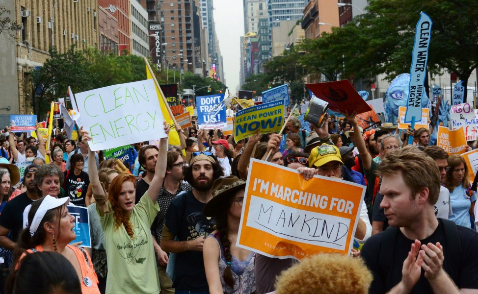 Global Climate March New York