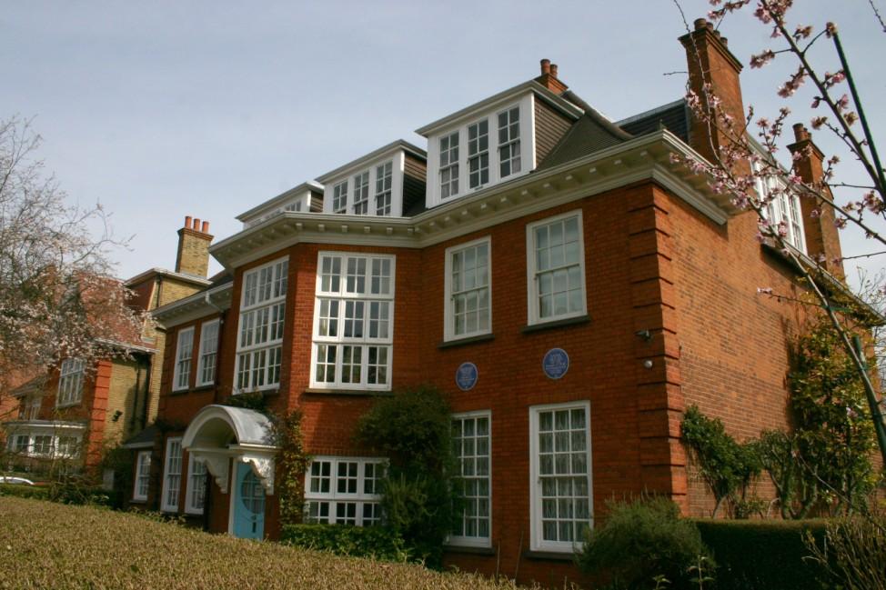 Sigmund Freuds Haus in Hampstead