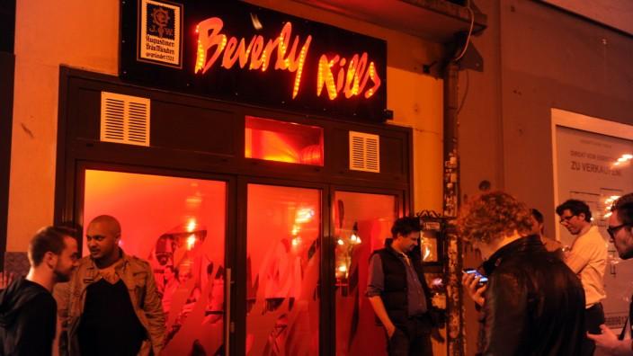 """Bar """"Beverly Kills"""" in der Müllerstraße in München, 2013"""