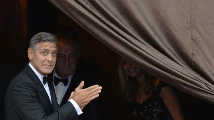 George Clooney, Venedig, Hochzeit