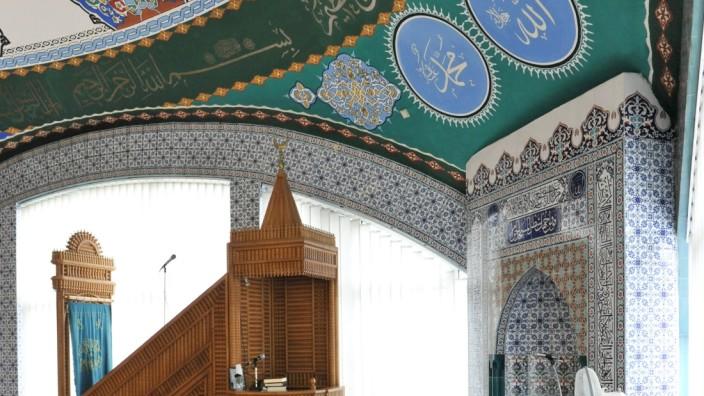 Gebetsraum der Moschee in Pasing, 2011
