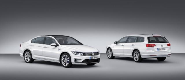 VW Passat GTE mit Plug-in-Hybridantrieb