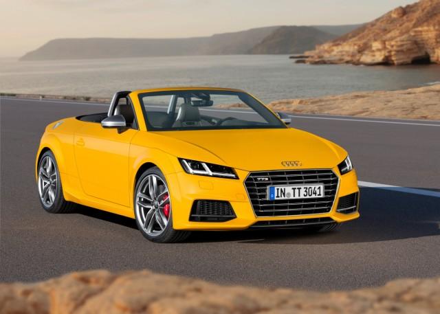 Der neue Audi TT Roadster.