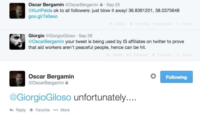 Tweets Oscar Bergamin