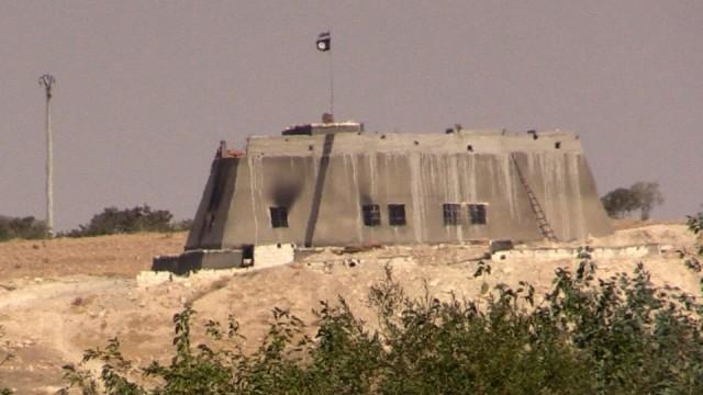 IS-Bunker in Syrien