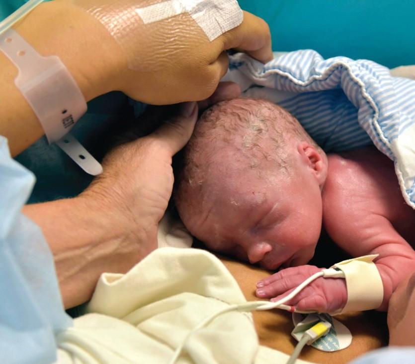 Geburt nach Gebärmutter-Transplantation