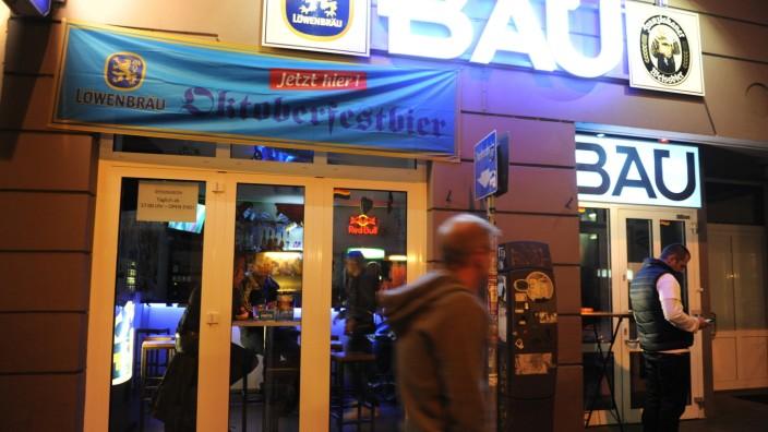 """Bar """"Bau"""" in München, 2014"""