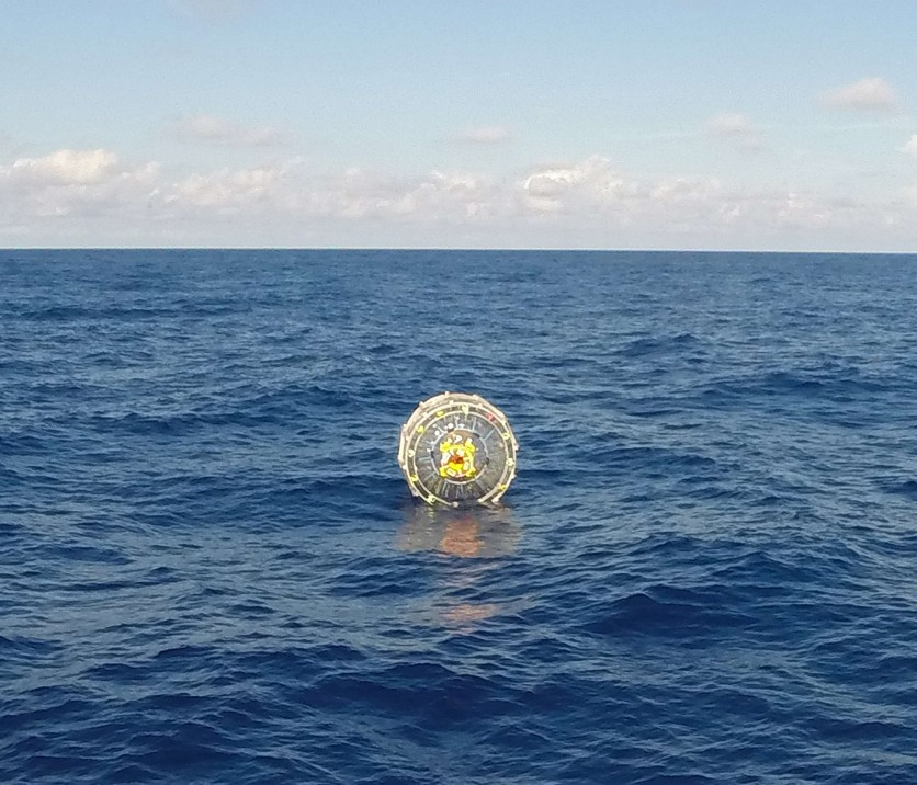 Coast Guard rescues man in inflatable hydro pod