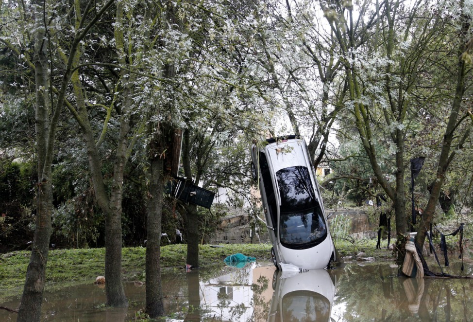 Floods in Southern France