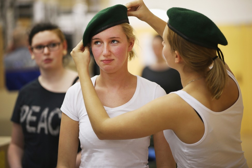 BESTPIX New Recruits Join The Bundeswehr