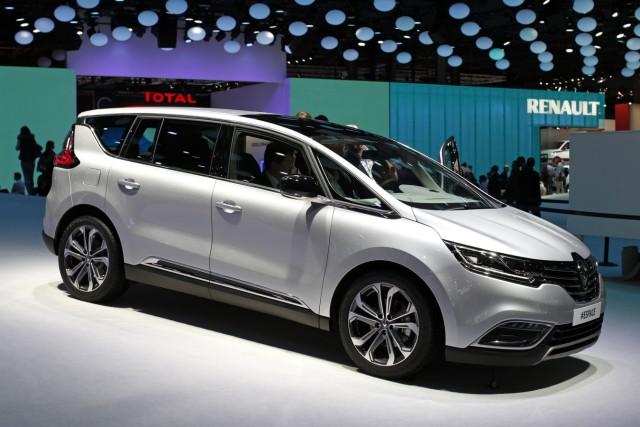 Der neue Renault Espace auf dem Pariser Autosalon 2014.