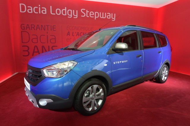 Dacia Lodgy Stepway auf dem Pariser Autosalon 2014.