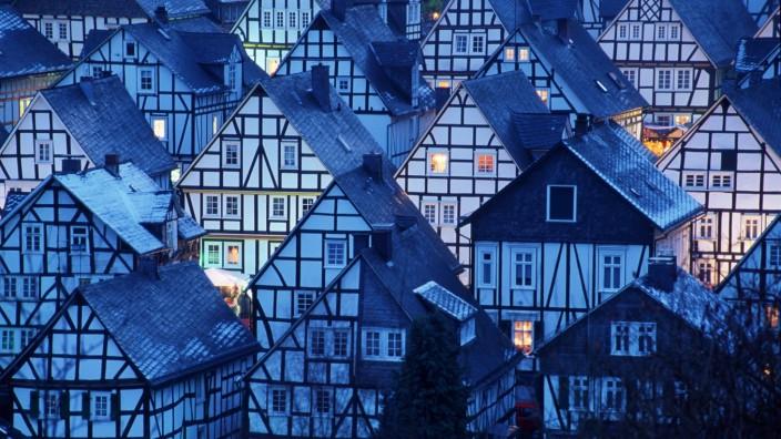 Timber-framed houses / Freudenberg / Fachwerkhaeuser