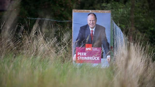 SPD-Wahlplakat