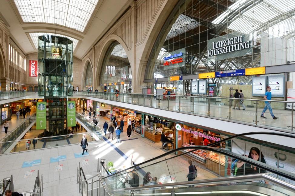 Komplettsperrung für Leipziger Hauptbahnhof