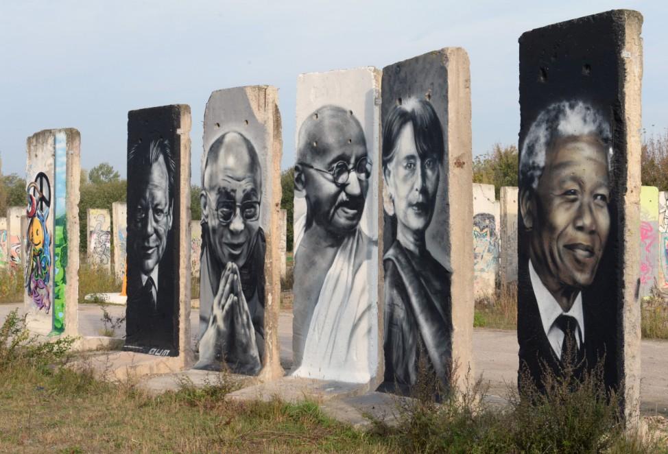 Teile der ehemaligen Berliner Mauer