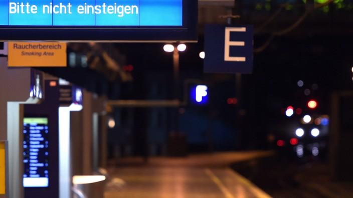 Lokführerstreik - Köln