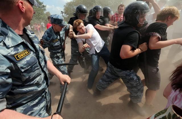 Gay Pride event in St. Petersburg