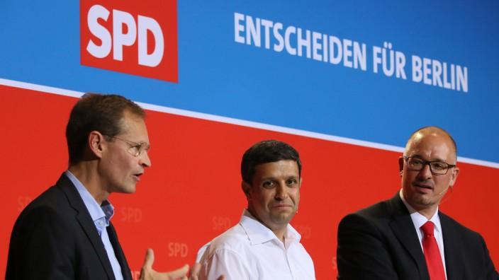 SPD-Mitgliederforum zu Wowereit-Nachfolge