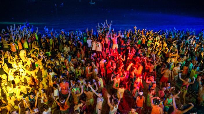 Vollmond-Party in Thailand