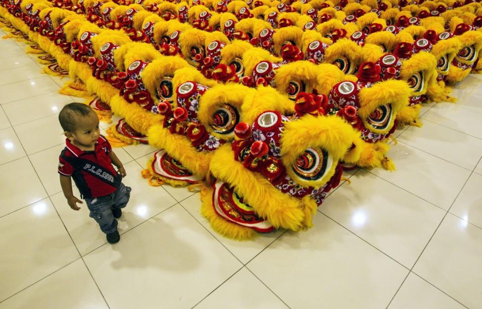 Traditional Art Lion Dance Event
