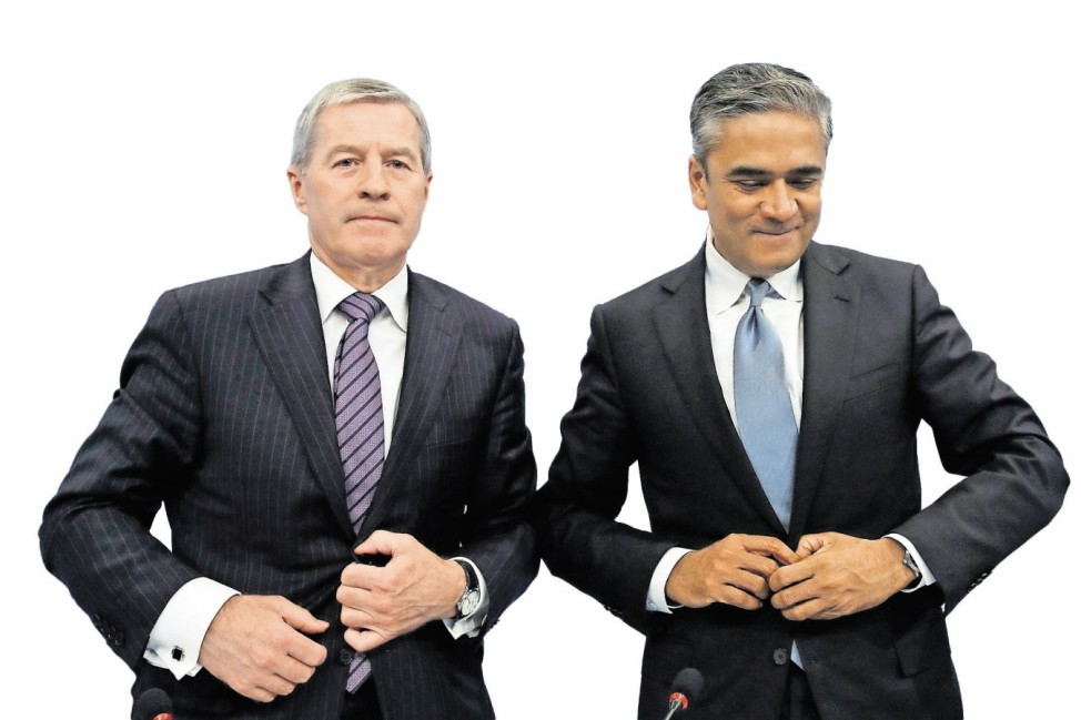 File photo of Fitschen and Jain Co-Chairmen of the Management board and the Group Executive Committee of Deutsche Bank AG