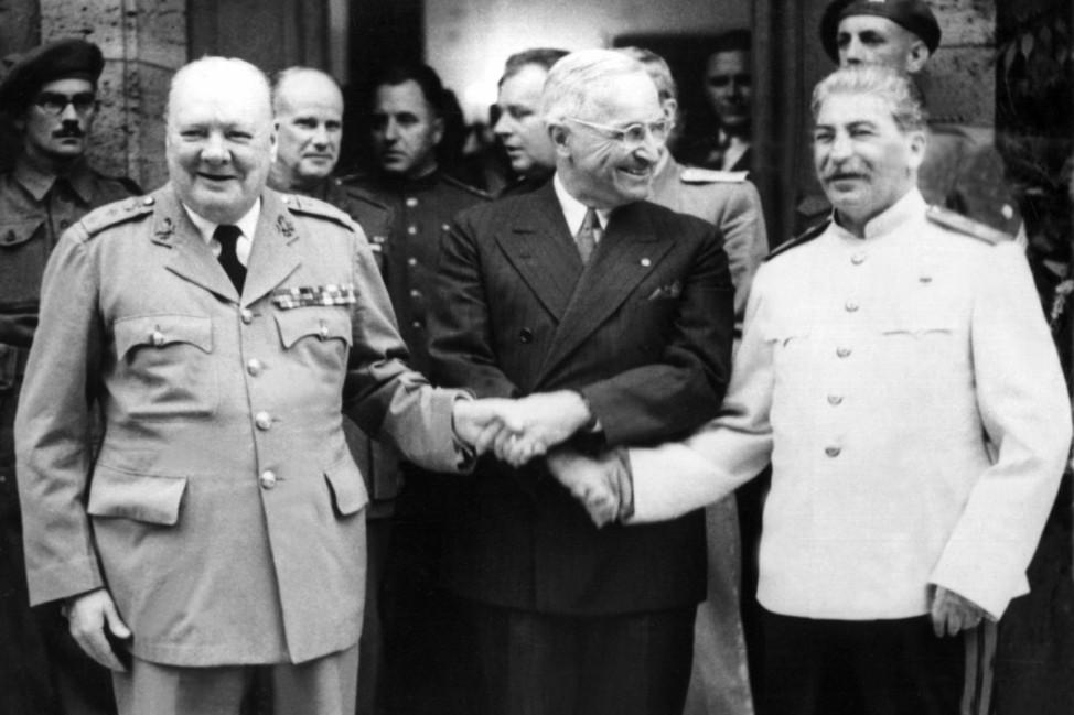 ZWeiter Weltkrieg - Potsdamer Konferenz 1945